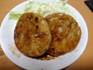 炒めた豆腐ハンバーグ とうふの飛太郎