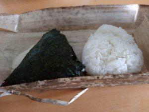 おむすびぎゅっぎゅ@二日市 青高菜 塩むすび