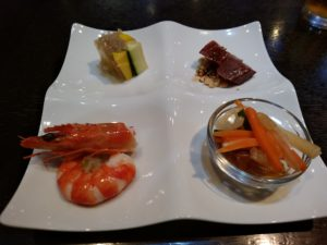 博多 華都飯店 前菜