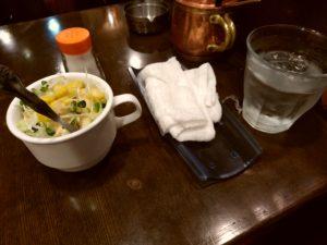 ITOH ya coffee shop イトーヤコーヒーショップ サラダ