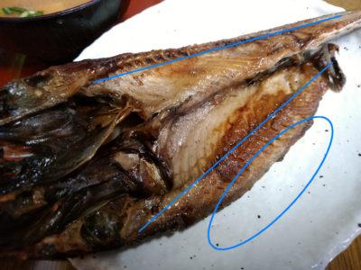 魚の食べ方