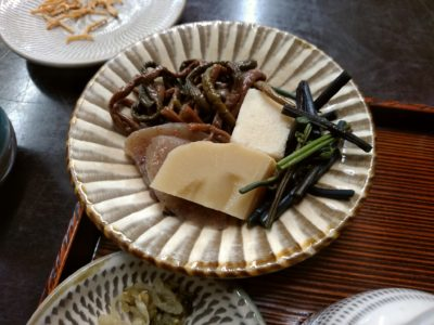 京や 東峰村 山菜
