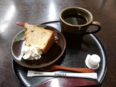 京や 東峰村 そば粉のシフォンケーキ