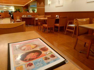 小倉井筒屋 ファミリーレストラン 店内