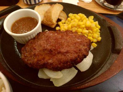 小倉井筒屋 ファミリーレストラン ハンバーグ