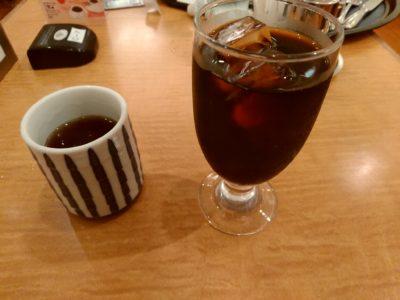 小倉井筒屋 ファミリーレストラン ハンバーグ アイスコーヒー