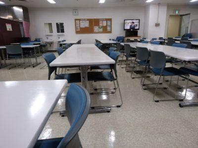 福岡県警察本部 食堂
