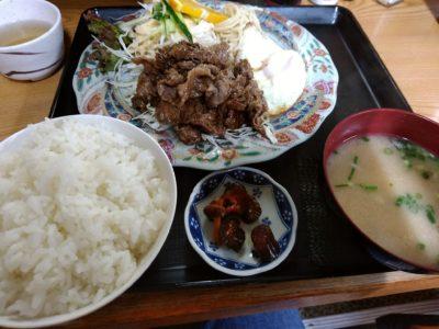 ふるさと 奈良屋 牛生姜焼き