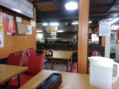 箱崎 高須磨町 食堂 合縁 店内
