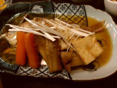 はかた伊達 鯛の煮付け・野菜