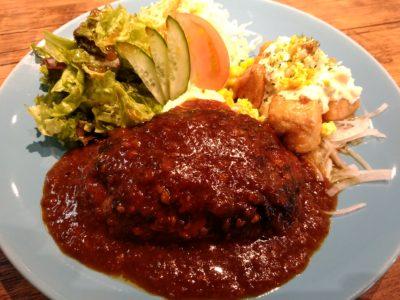 マカロニキッチン ハンバーグ&チキン南蛮