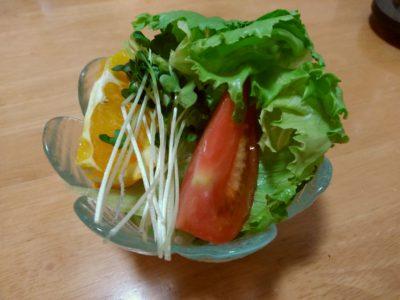 キッチンあや 奈良屋 サラダ
