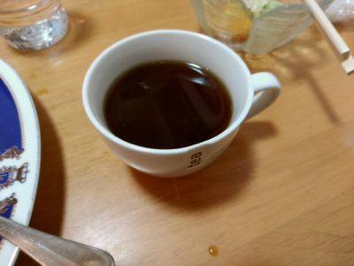 キッチンあや 奈良屋 コーヒー