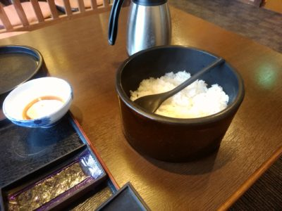 長湯温泉かじか庵 朝食 白飯