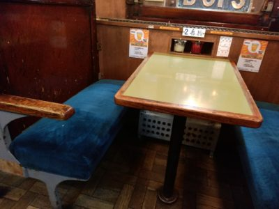 ナイアガラ テーブル席