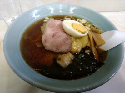 松葉 トキワ荘 落合南長崎 ワンタン麺