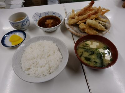 小倉 天ぷら定食ふじしま 天ぷら定食