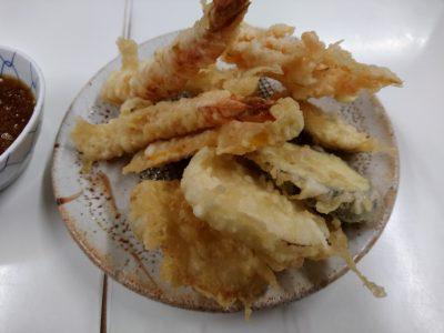 小倉 天ぷら定食ふじしま 海老天