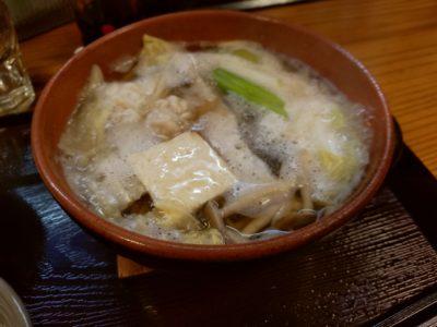 花千里 鱈の白子入り鍋