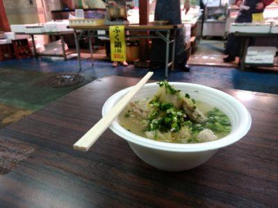 柳橋連合市場 仲西鮮魚店 ふく鍋