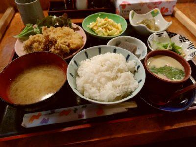 和 奈良屋 定食 チキンカツ