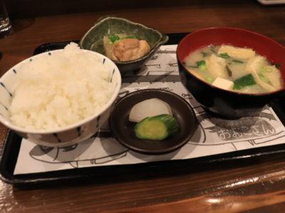 博多駅 アジフライセンターおむこさん 定食