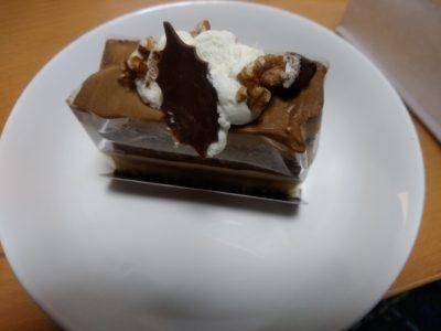 アルプス 奈良屋 モカチョコケーキ