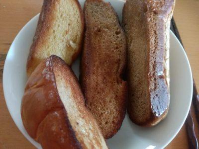 長寿製パン 焼く