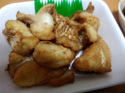 柳橋連合市場 古賀鮮魚 鯛 ヒラメ フライ