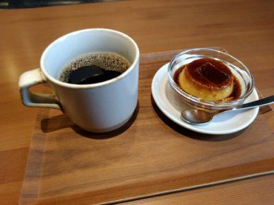 自家焙煎 黒柴コーヒー 高森 プリン