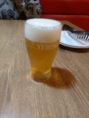 ぼんじょるの 博多朝日ビル  ビール