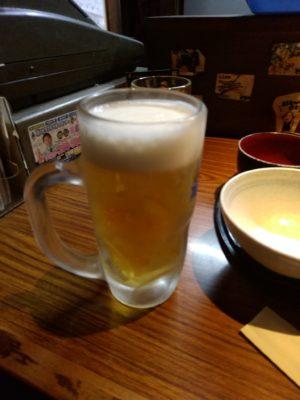 居食家まるみ 古門戸 ビール