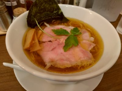 ICHIYU RAMMEN&GYOZA 醤油ラーメン