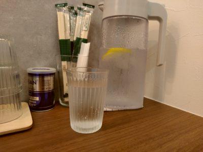 ICHIYU RAMMEN&GYOZA レモン水