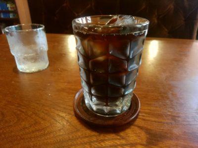 喫茶ふじ 北天神 アイスコーヒー