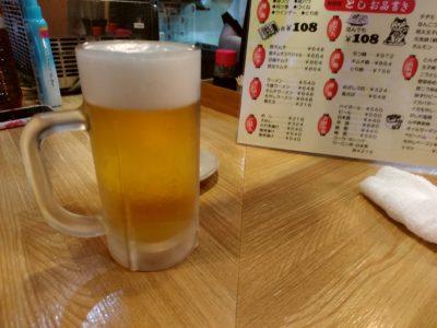 下呉服町 とし メニュー ビール