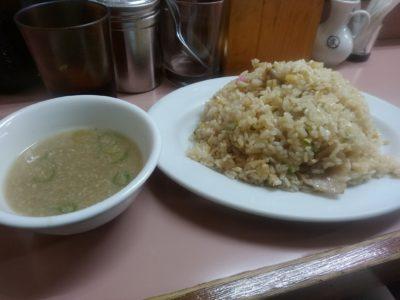 中華橋本 薬院 焼き飯 スープ