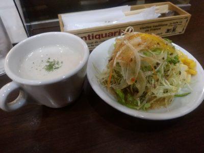 サンセルコ Cafe BAMP 冷製スープ