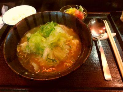 香港料理龍苑 中華 サンセルコ エビ入りワンタンスープそばセット