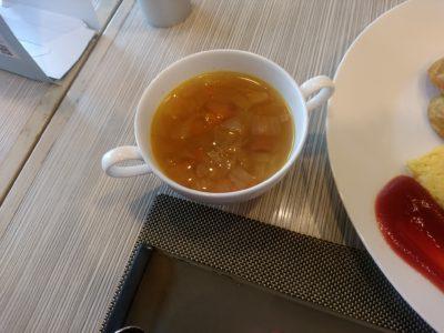 ANAクラウンカフェ 博多 野菜スープ