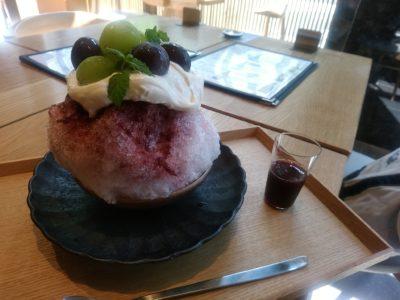 うお田 祇園 博多 かき氷