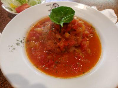 ブラジレイロ ハンバーグ トマト煮込み