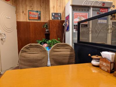 カド 門司 喫茶店 店内