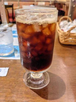 庵道珈琲 天神 アイスコーヒー